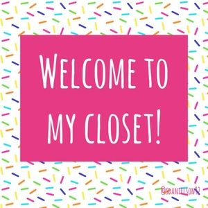 Welcome! Like this listing to find my closet again